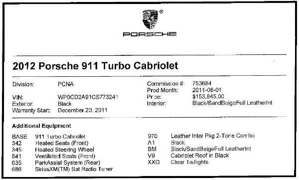 Used 2012 Porsche 911 Turbo for sale Sold at Alfa Romeo of Greenwich in Greenwich CT 06830 28