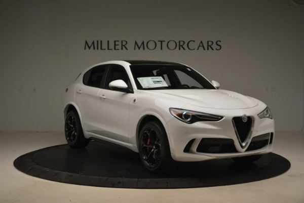 New 2019 Alfa Romeo Stelvio Quadrifoglio for sale Sold at Alfa Romeo of Greenwich in Greenwich CT 06830 12