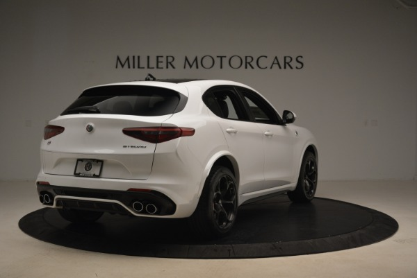 New 2019 Alfa Romeo Stelvio Quadrifoglio for sale Sold at Alfa Romeo of Greenwich in Greenwich CT 06830 7