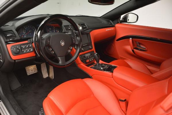 Used 2014 Maserati GranTurismo Sport for sale Sold at Alfa Romeo of Greenwich in Greenwich CT 06830 19