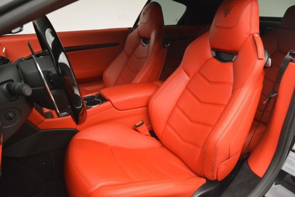 Used 2014 Maserati GranTurismo Sport for sale Sold at Alfa Romeo of Greenwich in Greenwich CT 06830 21