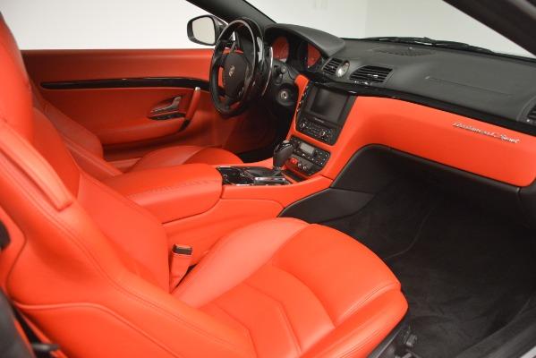 Used 2014 Maserati GranTurismo Sport for sale Sold at Alfa Romeo of Greenwich in Greenwich CT 06830 22