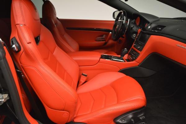 Used 2014 Maserati GranTurismo Sport for sale Sold at Alfa Romeo of Greenwich in Greenwich CT 06830 23
