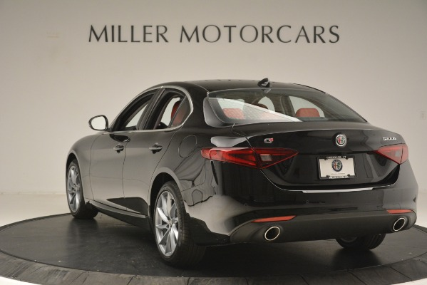 New 2019 Alfa Romeo Giulia Q4 for sale Sold at Alfa Romeo of Greenwich in Greenwich CT 06830 5