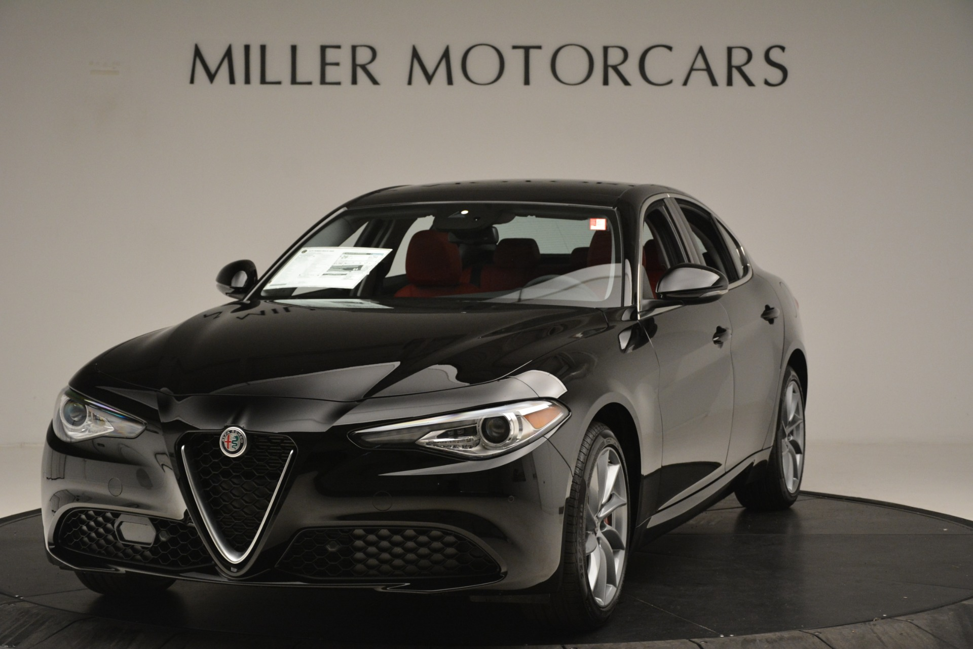 New 2019 Alfa Romeo Giulia Q4 for sale Sold at Alfa Romeo of Greenwich in Greenwich CT 06830 1