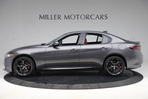 New 2019 Alfa Romeo Giulia Ti Sport Q4 for sale Sold at Alfa Romeo of Greenwich in Greenwich CT 06830 3