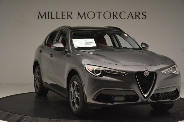 New 2019 Alfa Romeo Stelvio Sport Q4 for sale Sold at Alfa Romeo of Greenwich in Greenwich CT 06830 11