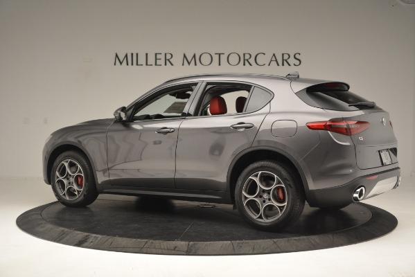 New 2019 Alfa Romeo Stelvio Sport Q4 for sale Sold at Alfa Romeo of Greenwich in Greenwich CT 06830 4