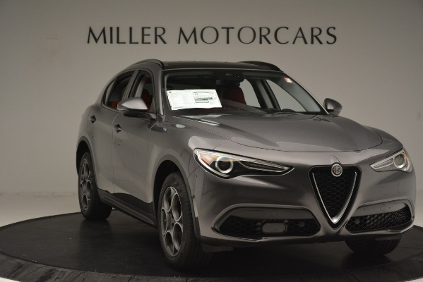 New 2019 Alfa Romeo Stelvio Sport Q4 for sale Sold at Alfa Romeo of Greenwich in Greenwich CT 06830 11