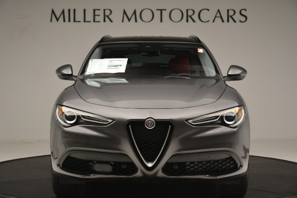 New 2019 Alfa Romeo Stelvio Sport Q4 for sale Sold at Alfa Romeo of Greenwich in Greenwich CT 06830 12