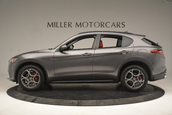New 2019 Alfa Romeo Stelvio Sport Q4 for sale Sold at Alfa Romeo of Greenwich in Greenwich CT 06830 3