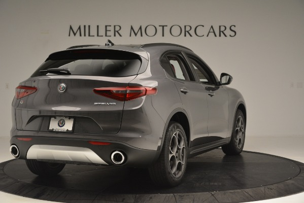New 2019 Alfa Romeo Stelvio Sport Q4 for sale Sold at Alfa Romeo of Greenwich in Greenwich CT 06830 7
