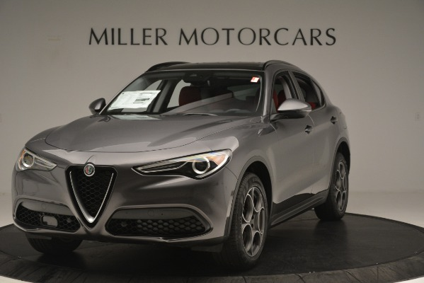 New 2019 Alfa Romeo Stelvio Sport Q4 for sale Sold at Alfa Romeo of Greenwich in Greenwich CT 06830 1