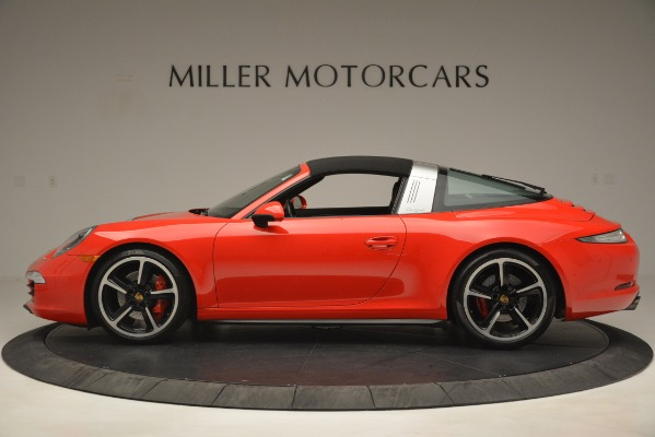 Used 2016 Porsche 911 Targa 4S for sale Sold at Alfa Romeo of Greenwich in Greenwich CT 06830 14