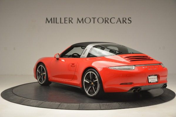 Used 2016 Porsche 911 Targa 4S for sale Sold at Alfa Romeo of Greenwich in Greenwich CT 06830 15