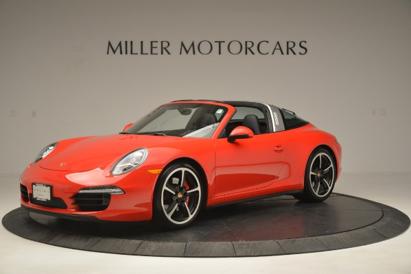 Used 2016 Porsche 911 Targa 4S for sale Sold at Alfa Romeo of Greenwich in Greenwich CT 06830 2