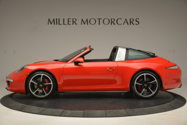 Used 2016 Porsche 911 Targa 4S for sale Sold at Alfa Romeo of Greenwich in Greenwich CT 06830 3