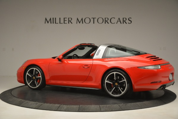 Used 2016 Porsche 911 Targa 4S for sale Sold at Alfa Romeo of Greenwich in Greenwich CT 06830 4