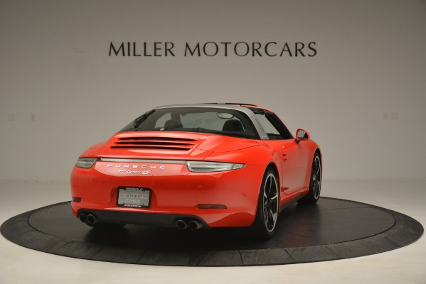 Used 2016 Porsche 911 Targa 4S for sale Sold at Alfa Romeo of Greenwich in Greenwich CT 06830 7