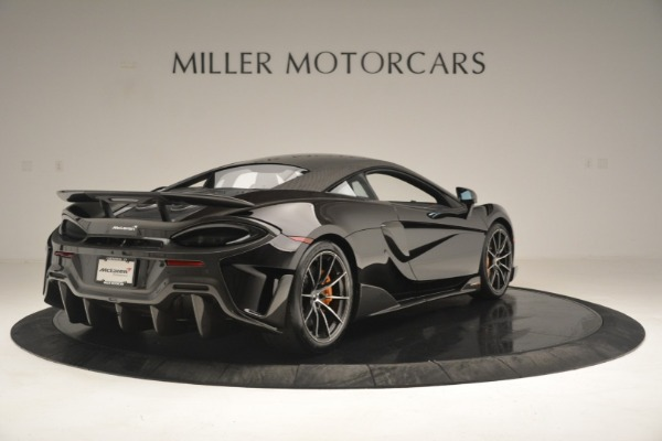 New 2019 McLaren 600LT Coupe for sale Sold at Alfa Romeo of Greenwich in Greenwich CT 06830 8