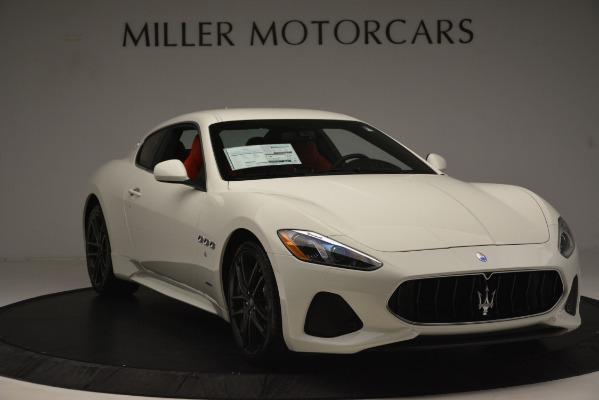 New 2018 Maserati GranTurismo Sport for sale Sold at Alfa Romeo of Greenwich in Greenwich CT 06830 11