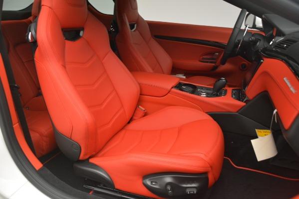 New 2018 Maserati GranTurismo Sport for sale Sold at Alfa Romeo of Greenwich in Greenwich CT 06830 22