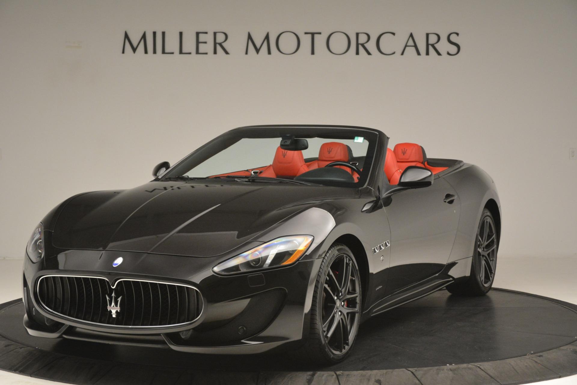 Used 2015 Maserati GranTurismo Sport for sale Sold at Alfa Romeo of Greenwich in Greenwich CT 06830 1
