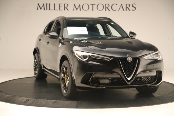 Used 2019 Alfa Romeo Stelvio Quadrifoglio for sale Sold at Alfa Romeo of Greenwich in Greenwich CT 06830 11