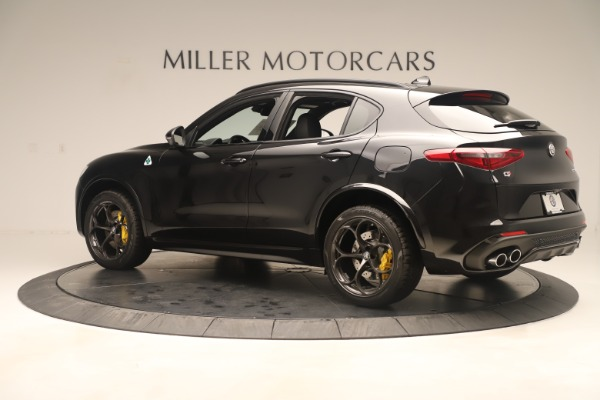 New 2019 Alfa Romeo Stelvio Quadrifoglio for sale $86,790 at Alfa Romeo of Greenwich in Greenwich CT 06830 4