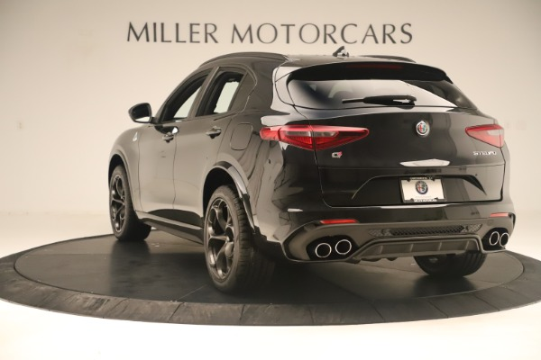 New 2019 Alfa Romeo Stelvio Quadrifoglio for sale $86,790 at Alfa Romeo of Greenwich in Greenwich CT 06830 5