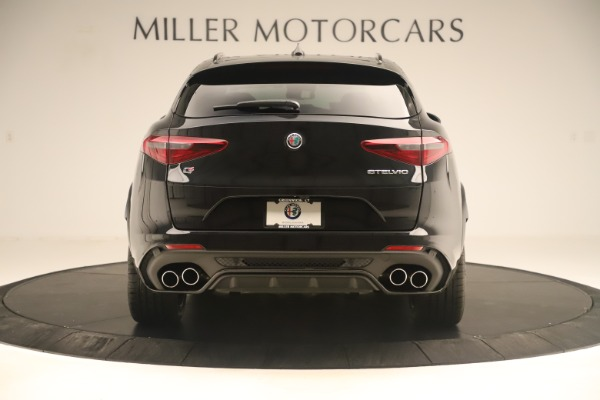 New 2019 Alfa Romeo Stelvio Quadrifoglio for sale $86,790 at Alfa Romeo of Greenwich in Greenwich CT 06830 6