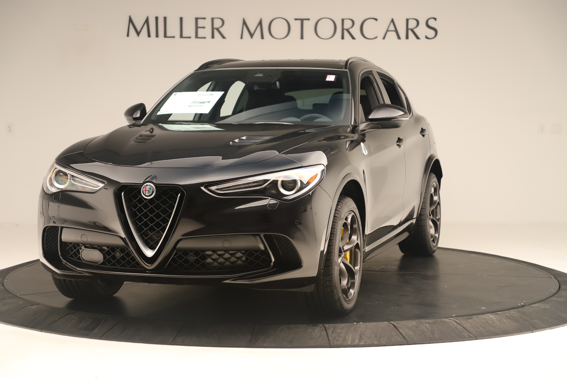 New 2019 Alfa Romeo Stelvio Quadrifoglio for sale $86,790 at Alfa Romeo of Greenwich in Greenwich CT 06830 1