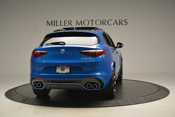 New 2019 Alfa Romeo Stelvio Quadrifoglio for sale $86,790 at Alfa Romeo of Greenwich in Greenwich CT 06830 10