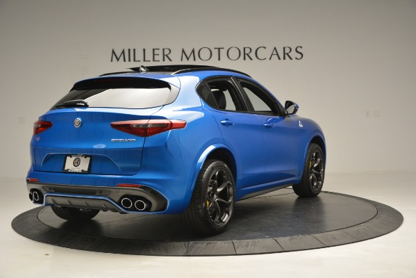 New 2019 Alfa Romeo Stelvio Quadrifoglio for sale $86,790 at Alfa Romeo of Greenwich in Greenwich CT 06830 11