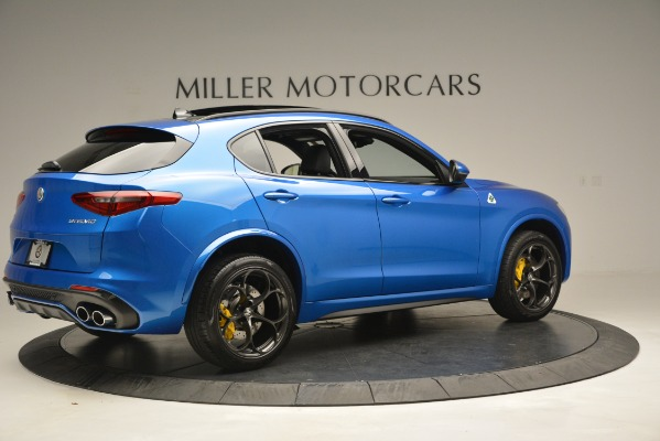 New 2019 Alfa Romeo Stelvio Quadrifoglio for sale $86,790 at Alfa Romeo of Greenwich in Greenwich CT 06830 12