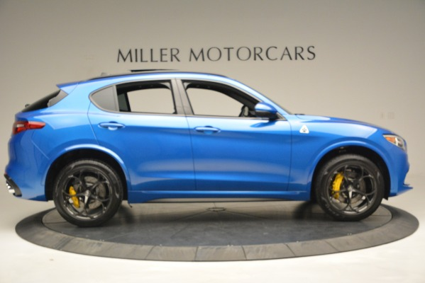 New 2019 Alfa Romeo Stelvio Quadrifoglio for sale $86,790 at Alfa Romeo of Greenwich in Greenwich CT 06830 14