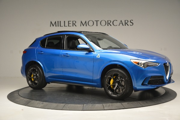 New 2019 Alfa Romeo Stelvio Quadrifoglio for sale $86,790 at Alfa Romeo of Greenwich in Greenwich CT 06830 16