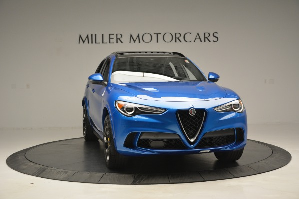 New 2019 Alfa Romeo Stelvio Quadrifoglio for sale $86,790 at Alfa Romeo of Greenwich in Greenwich CT 06830 18