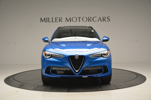 New 2019 Alfa Romeo Stelvio Quadrifoglio for sale $86,790 at Alfa Romeo of Greenwich in Greenwich CT 06830 19