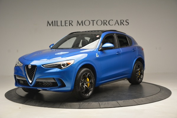 New 2019 Alfa Romeo Stelvio Quadrifoglio for sale $86,790 at Alfa Romeo of Greenwich in Greenwich CT 06830 2