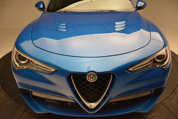 New 2019 Alfa Romeo Stelvio Quadrifoglio for sale $86,790 at Alfa Romeo of Greenwich in Greenwich CT 06830 27