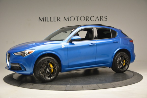 New 2019 Alfa Romeo Stelvio Quadrifoglio for sale $86,790 at Alfa Romeo of Greenwich in Greenwich CT 06830 3
