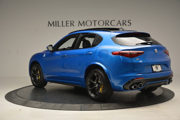 New 2019 Alfa Romeo Stelvio Quadrifoglio for sale $86,790 at Alfa Romeo of Greenwich in Greenwich CT 06830 7