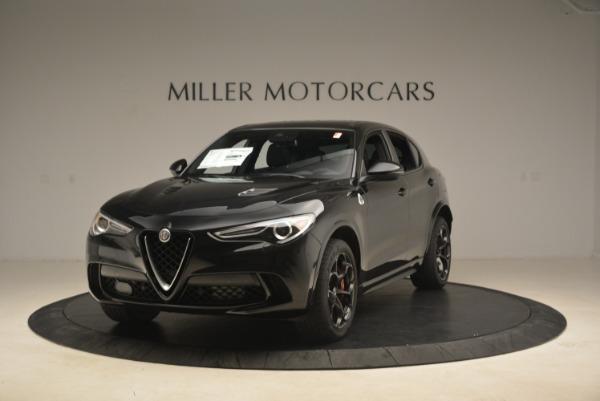 New 2019 Alfa Romeo Stelvio Quadrifoglio for sale Sold at Alfa Romeo of Greenwich in Greenwich CT 06830 1