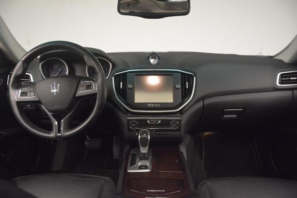 Used 2015 Maserati Ghibli S Q4 for sale Sold at Alfa Romeo of Greenwich in Greenwich CT 06830 17