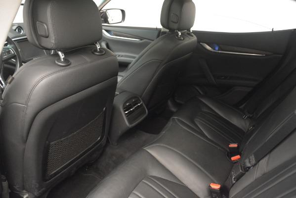 Used 2015 Maserati Ghibli S Q4 for sale Sold at Alfa Romeo of Greenwich in Greenwich CT 06830 24