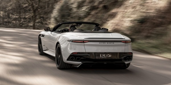 New 2020 Aston Martin DBS Convertible for sale Call for price at Alfa Romeo of Greenwich in Greenwich CT 06830 3