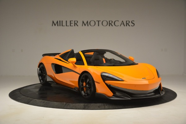 New 2020 McLaren 600LT Spider Convertible for sale Sold at Alfa Romeo of Greenwich in Greenwich CT 06830 11