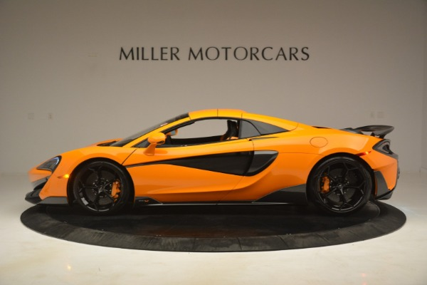 New 2020 McLaren 600LT Spider Convertible for sale Sold at Alfa Romeo of Greenwich in Greenwich CT 06830 16