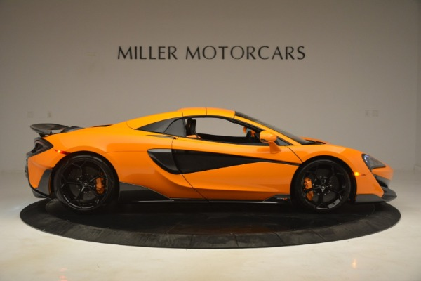 New 2020 McLaren 600LT Spider Convertible for sale Sold at Alfa Romeo of Greenwich in Greenwich CT 06830 20